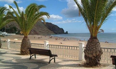 The Beach at Luz
