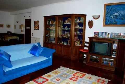 Lounge area tv