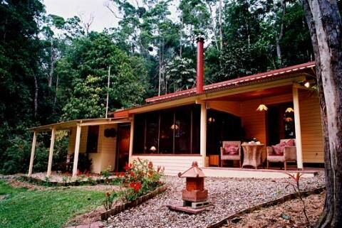 tranquility, seclusion, and exclusive use of private rainforest property