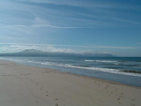 Blue flag beach 300 yards from house
