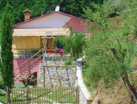 Tuscany holiday accommodation:frontal view