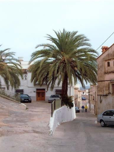 The old historic part of town