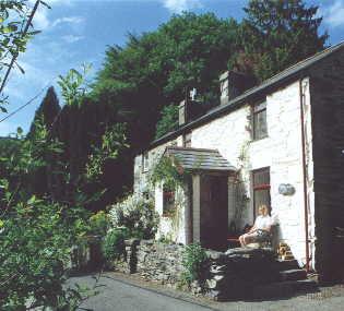 Bron Meirion Cottage in Snowdonia