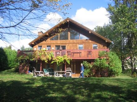 The main view of the chalet