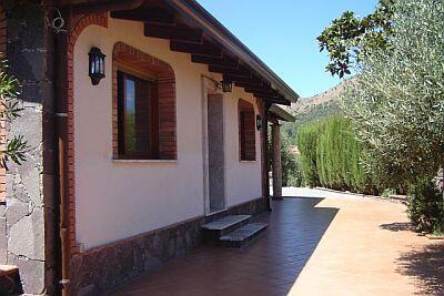 The villa..........