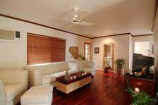 Cairns holiday house lounge room