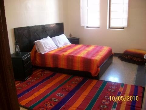 1ste large bed room with 2 persons bed