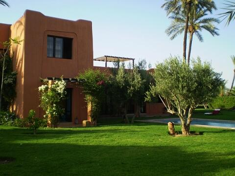 Luxury villa with private pool and huge garden in the Palgroove of Marrakech