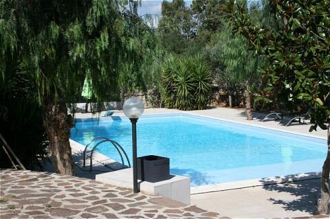 Pool of Villa Lamacoppa