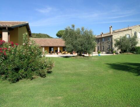 farmhouse and apartments
