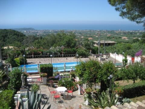 view from villa Bice