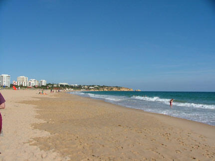 Alvor Beach with Studio 206's block to the left