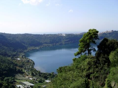 The Nemi Lake