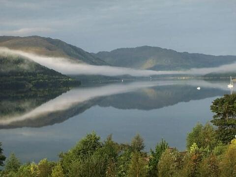 Loch Sunart Mornign Mist