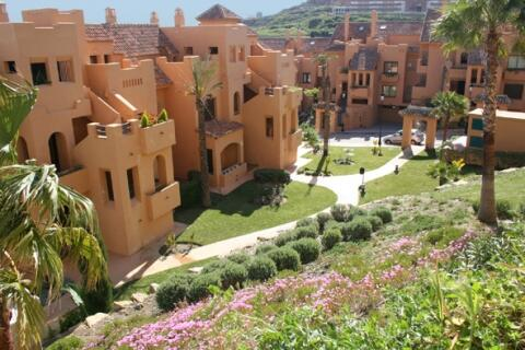The apartments are set in well kept gardens with peacful surroundings
