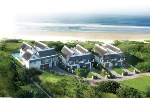 Aerial view of Beach Break