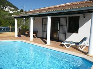 private pool and villa