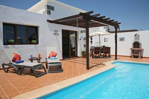 Electrically heated private pool