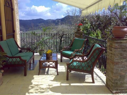 Terrazza outside seating Area