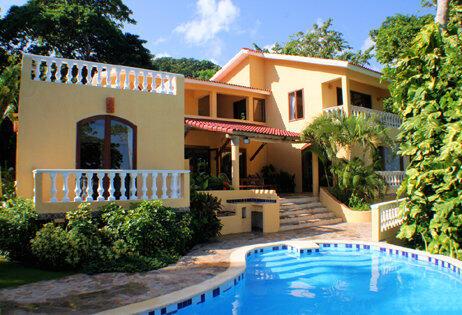 Fabulous Ocean front Caribbean villa for family holidays in Cabrera