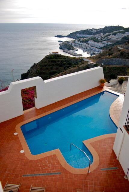 Pool & Marina Views from Entrance walkway