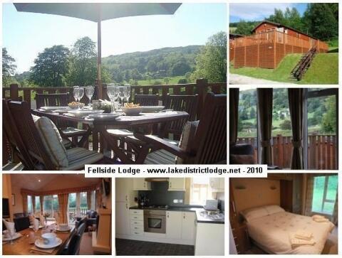 Fellside Lodge - Collage www.lakedistrictlodge.net