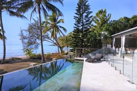 Stunning pool with beautiful pool