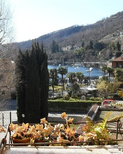 Lake view from terrace