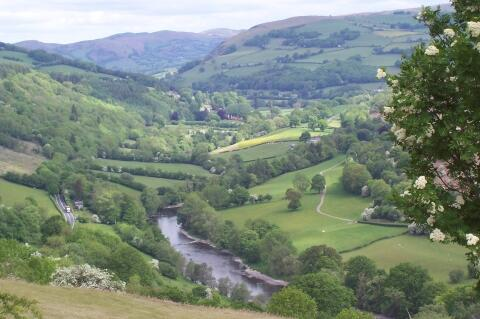 Where we are, in the Wye Valley