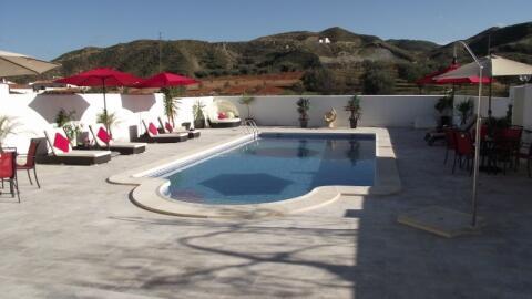 Large Salt - water swimming pool