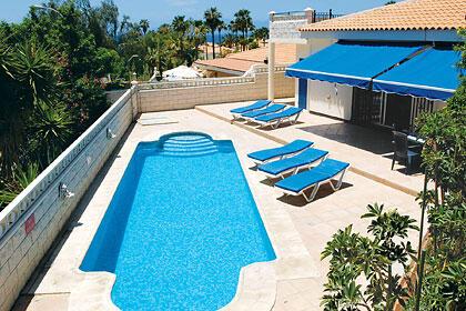 Pool and Villa View.