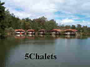 5 chalets on the Lake