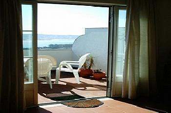 View from Living Room to Terrace / View