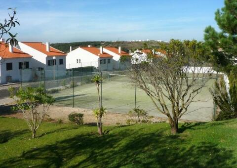 Tennis Court and Villa Apartments