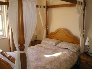 Delightful four poster bed