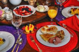 Property Photo: If you decide to have breakfast, guests say