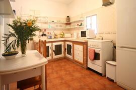 country kitchen in villa rosa