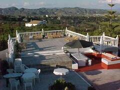 huge sun terrace
