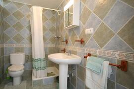 one of the bathrooms in villa rosa