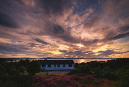 Property Photo: Sun set at Tigh a Cladach