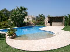 Pool and BBQ area