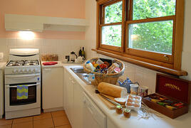 Cottage kitchen filled with local farm produce from South Coast NSW and Southern Highlands  Australia