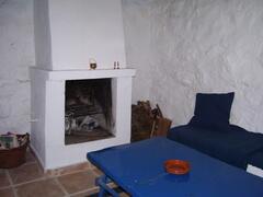 Old kitchen - sitting room