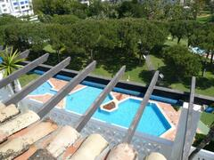 VIEW FROM HEIGHTS OF ONE SWIMMING POOL