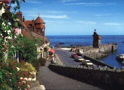 Property Photo: Harbour Point dominates all views of Lynmouth