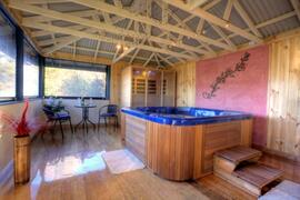 Property Photo: On site Sauna Spa Retreat