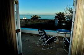 Property Photo: Balcony view from self-catering apartments