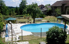 Property Photo: pool and garden