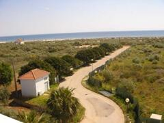 Property Photo: View and way to beach Praia Lota