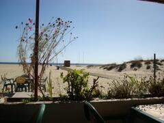 view from beachrestaurant nearby